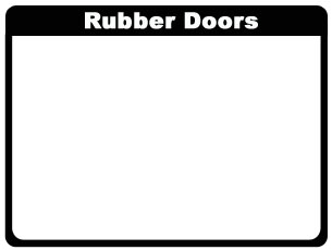 Rubber Doors