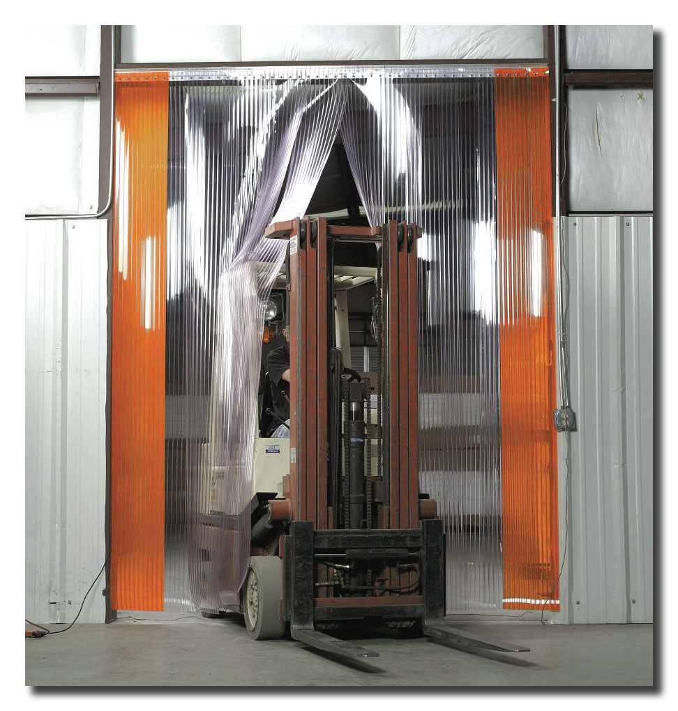 Val Mart Door Sales — Strip Curtains - Containing an environment and ...